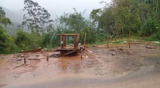 Puting Beliung Hancurkan Tiga Lumbung di Sa'dan Matallo