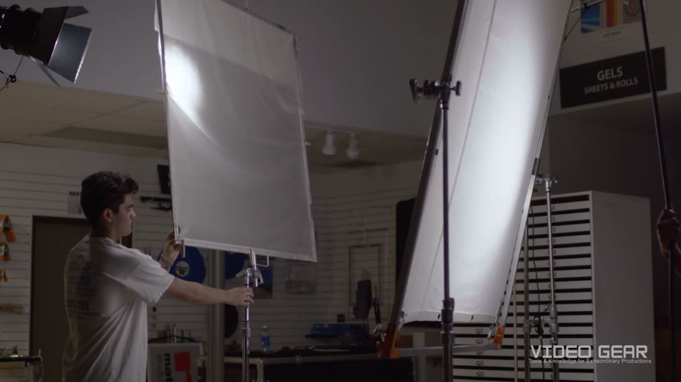 Film Lighting Tutorial Double Diffusion For Soft Beauty