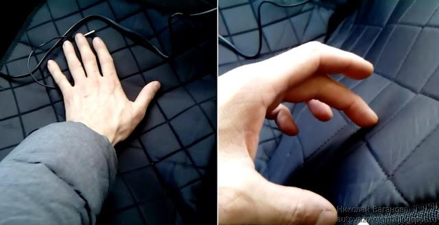 Обзор накидки на сиденье с обогревом Kioki 12v50