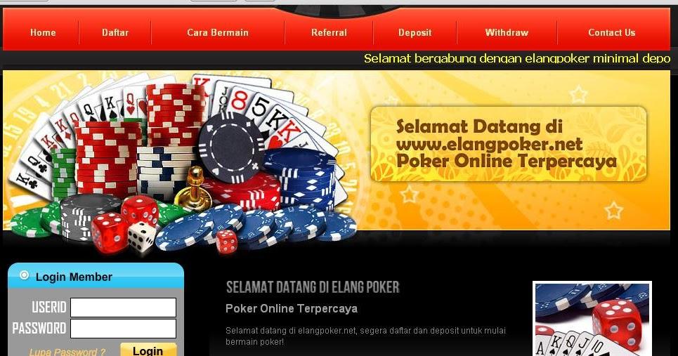Blog Pribadi Ku Dan Hanya Koleksi Pribadi Cara Deposit Elang Poker
