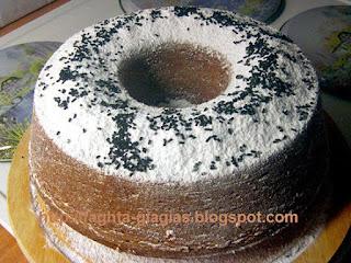 Κέικ με τρούφα σοκολάτας - από «Τα φαγητά της γιαγιάς»