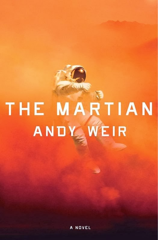 2014 Debut Author Challenge Update - Shovel Ready by Adam Sternbergh and The Martian by Andy Weir