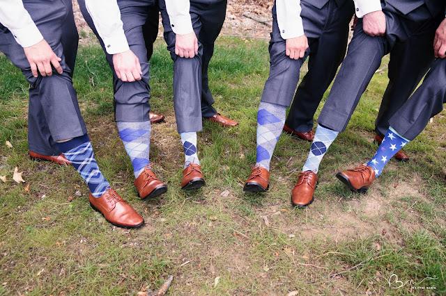 groomsmen funky socks