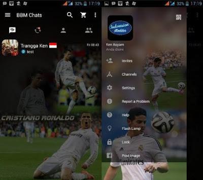 Kumpulan BBM Mod Tema Pemain Sepakbola Versi 2.12.0.9 Apk