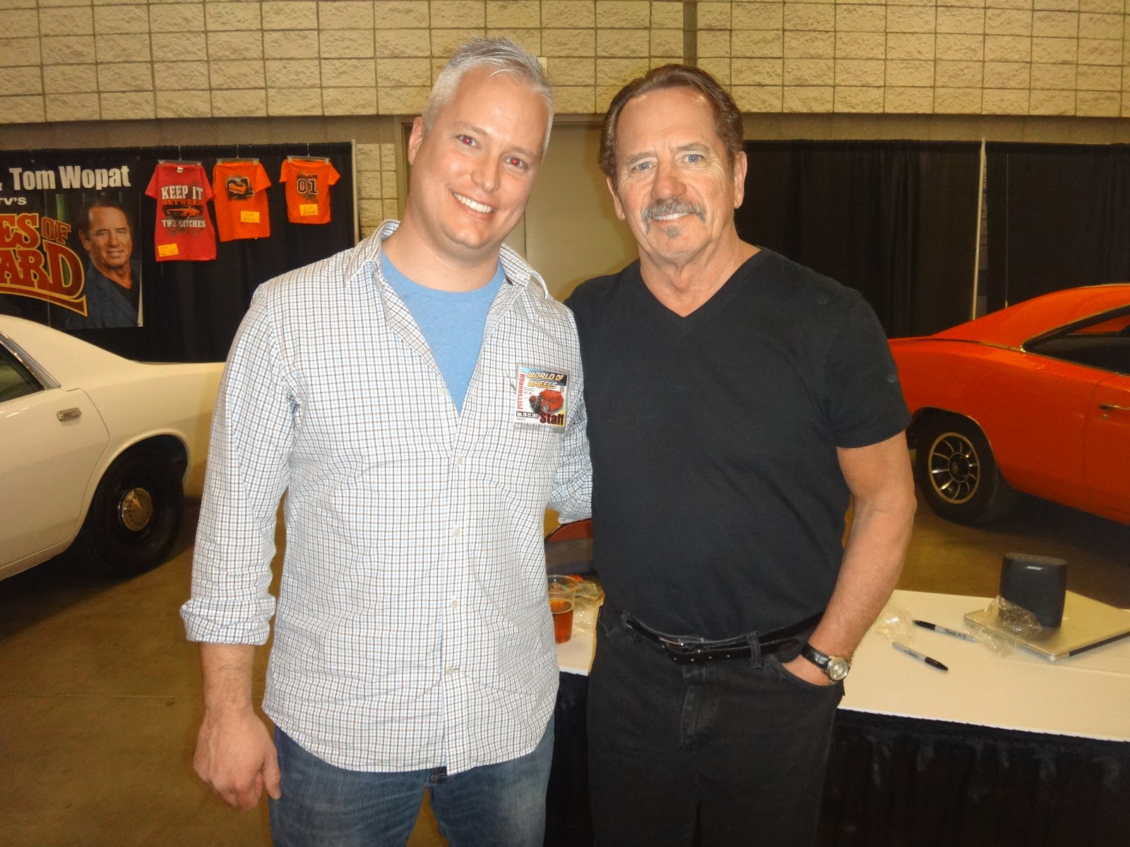 Dukes of Hazzard Collector: Catherine Bach and Tom Wopat at the ...