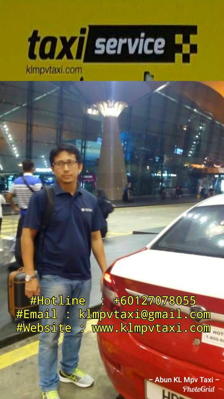 24 Hours Taxi Service From Seksyen 7 Shah Alam To Klia2