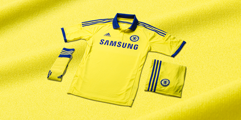 huge discount f2c94 087ba Chelsea 14-15 Home and Away Kits Released + Third Kit Leaked ...