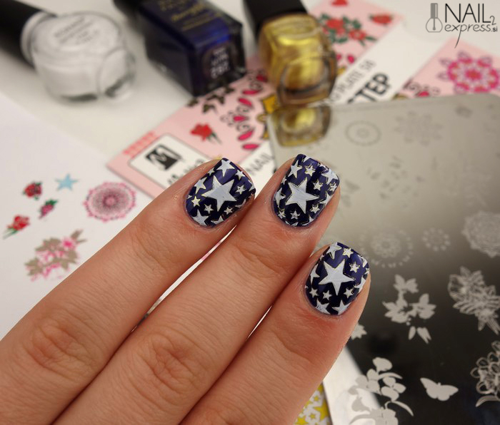 Moyra nail stamping plate 58 step by step_ocena