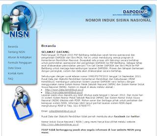 Cara Mengetahui NISN