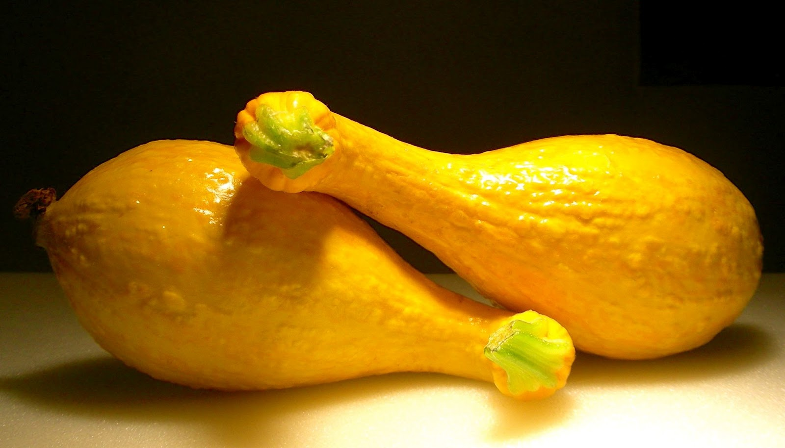 Baked Yellow Crookneck Squash with Brown Sugar, Cinnamon ...