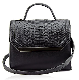 Python Top Handle Bag $17 (reg $75)