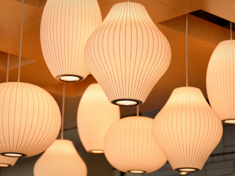 Download White Ceiling Lamps HD wallpaper. Click Visit page Button for More Images.