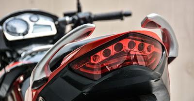 Hero Xtreme Sports Facelif tail light image