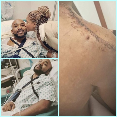 Banky W survives skin cancer surgery, shares his testimony