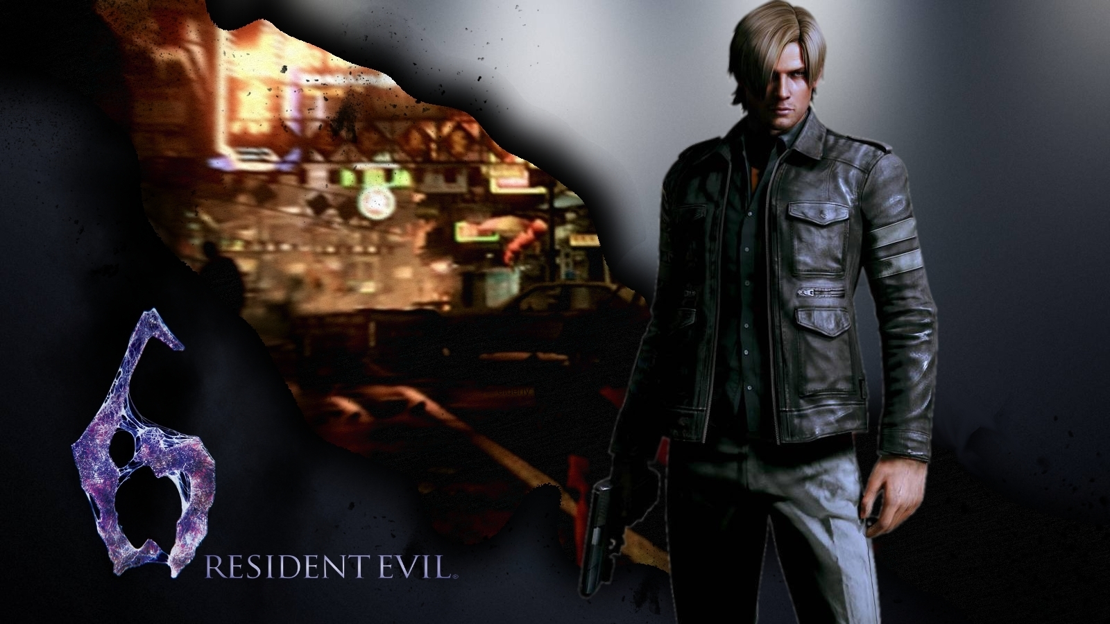 Rendered Bits Resident Evil 6 Wallpaper