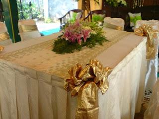alamanda puspita: dekorasi akad nikah
