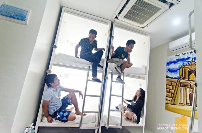 Tambayan Hostel Manila Capsule Bed