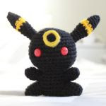 PATRON GRATIS  UMBREON | POKEMON AMIGURUMI 19996