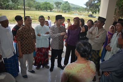 Wabup Arifin Sambangi Warga Kampung Baru Watulimo