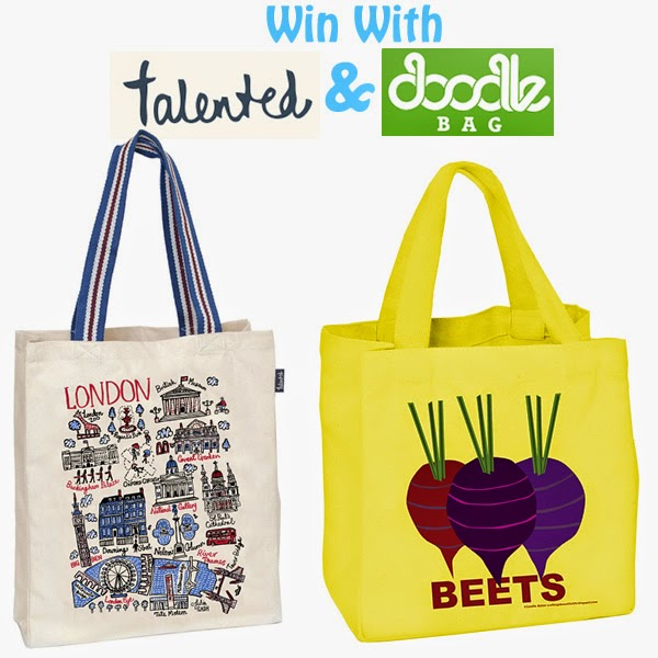 win with Talented and Doodle Bag