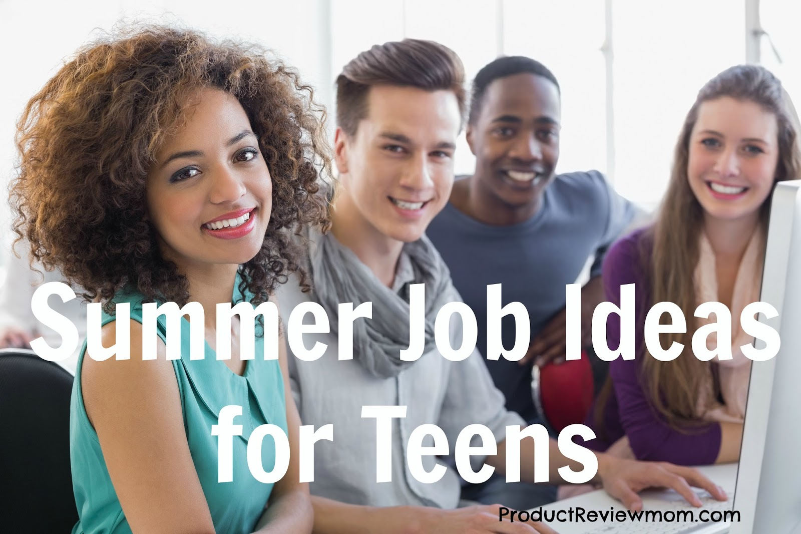 Summer Job Ideas for Teens  via  www.productreviewmom.com