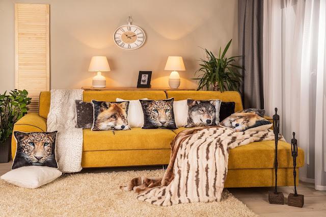 Kolory w mieszkaniu - odmień wnętrze dodatkami. Jesienny lampion DIY.