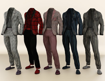 Basic Pajamas for Genesis 3 Male