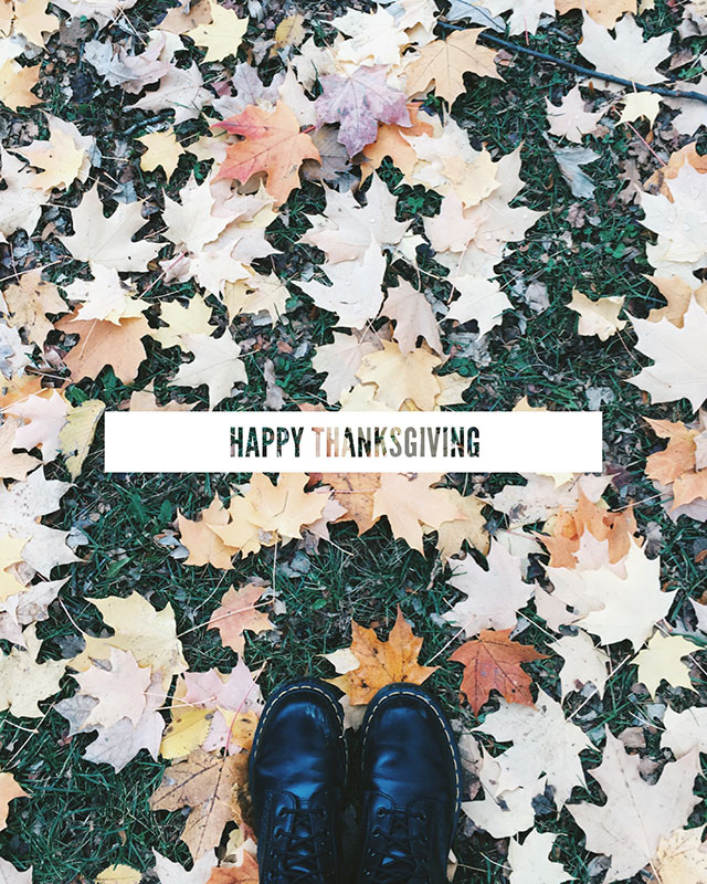 Happy Thanksgiving - the most magical Thursday of the year
