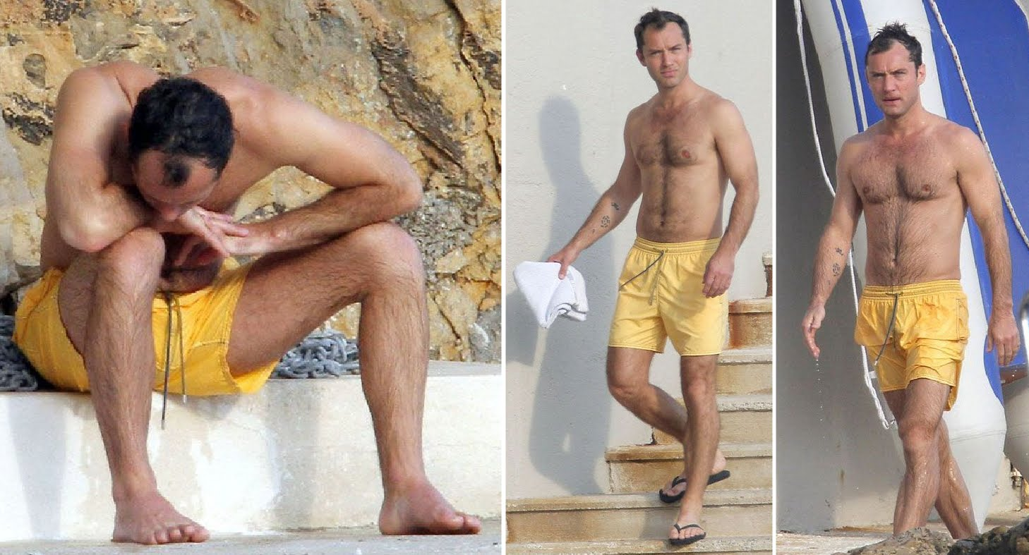 Jude law penis