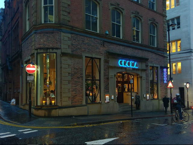 Croma Pizza Restaurant Manchester Greater Manchester UK Gluten Free Options