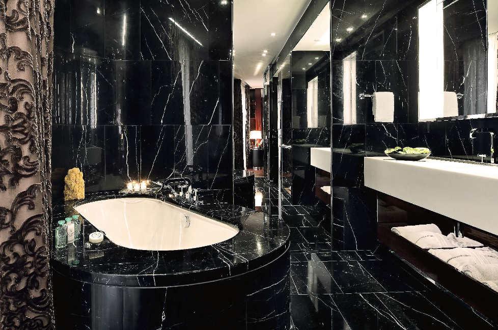Black Marble Bathroom : Types, Ideas, and Tips - HOMESETSIDEAS