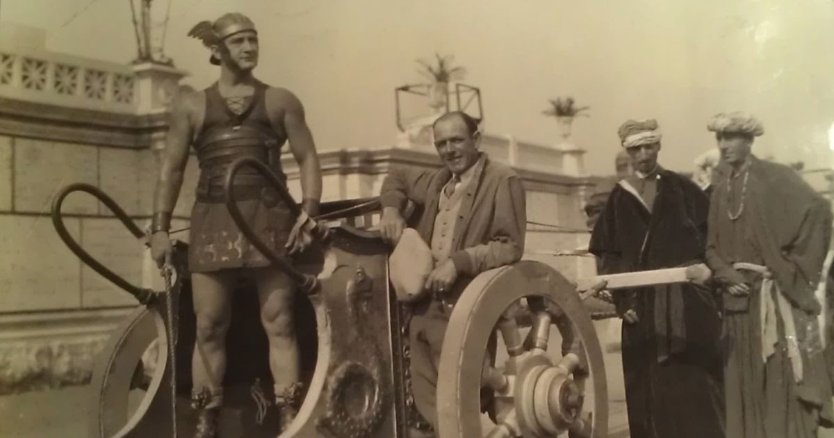 Ben-Hur 1925 Rare And Amazing Behind The Scenes Photos -8985