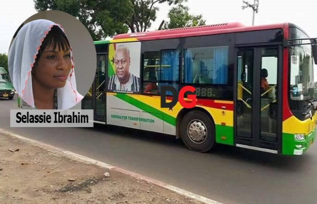 NDC girl grabs GH¢3.6 million bus branding contract