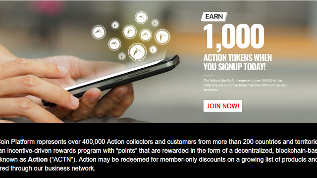 Action Coin Bagi 1000 Token Gratis