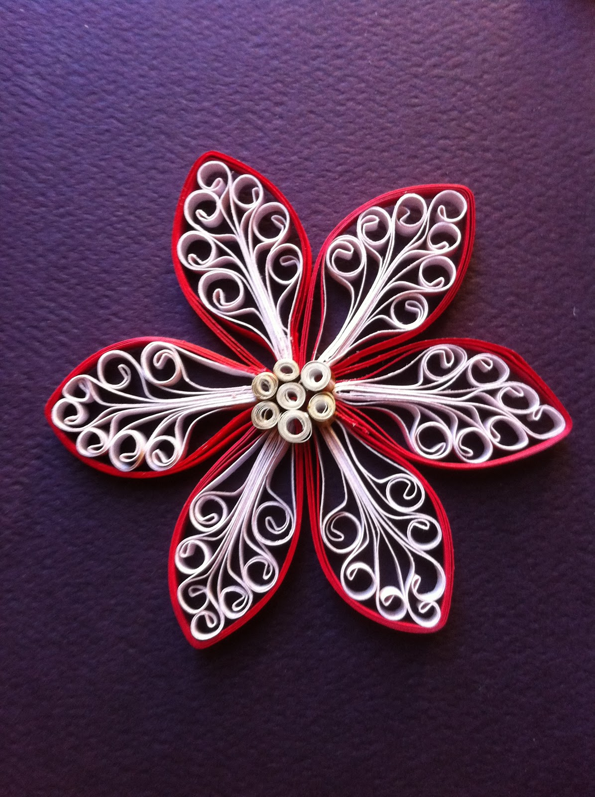 Rachielle's Quilling and Other Creative Pursuits: Royal Flower