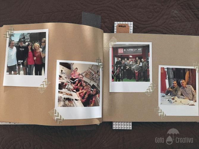 libro de firmas boda tapas forradas gota creativa
