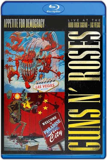 Guns N' Roses Appetite For Democracy At Las Vegas (2012) HD 720p