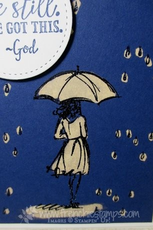 Beautiful You, Sending Thoughts, Weather Together, Bleach card, Stampin'Up!