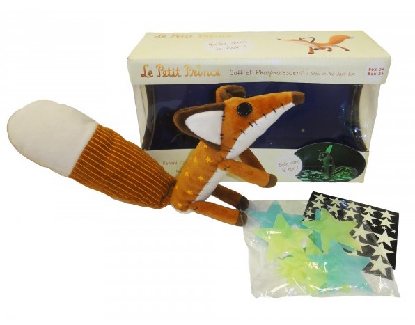 The Little Prince Glow-in-the-Dark Plush Fox