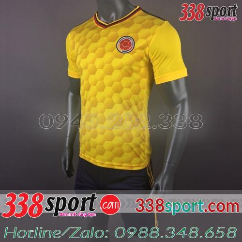 Áo Đội Tuyển Colombia 2017 2018 Vàng