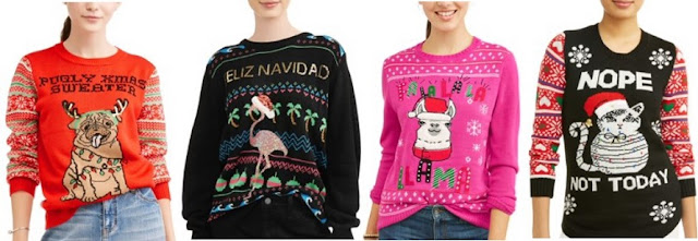 Ugly Holiday Sweaters Walmart
