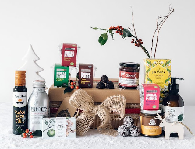 Moral Fibre Happy Healthy Christmas Hamper