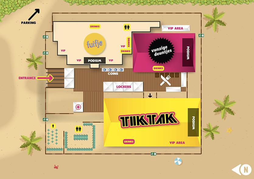 tik tak festival,bloemendaal, bloomingdale, vunzige deuntjes, fuifje, festival, festivalblogger, festivalvlogger, festivalseizoen, house, rnb, hip hop, plattegrond