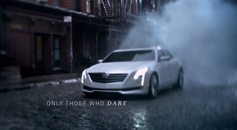 2016 Cadillac CT6 Shown in Daring New Ad