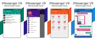 BBM MOD iMessenger v9 Base BBM v3.2.0.6 APK