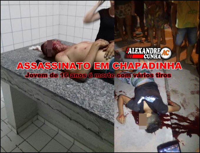 Em possível acerto contas, Jovem de 16 anos é executado no Bairro Novo em Chapadinha