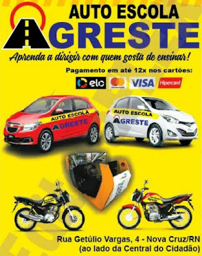 AUTO ESCOLA AGRESTE - (84) 3281 2175 - 99867 7733 - WALTSSAP