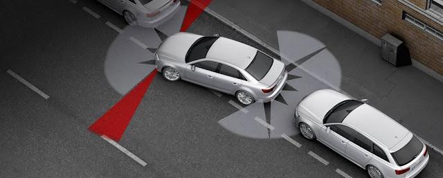 Funcionamiento del Sistema de precolisión del Audi A4 Ultra 2017