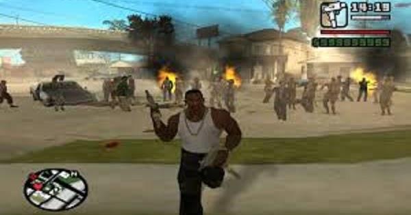 Los Santos Di Serang Zombie Part 1 (DYOM) | GTAind - Mod