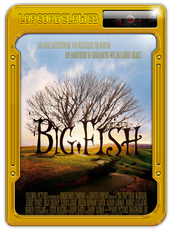 Big Fish (2003) --Tim Burton-- [BrRip-720p-Dual-Mega]